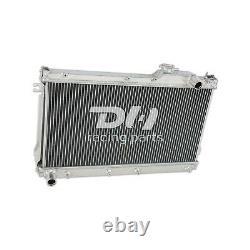 Radiateur De Course En Alliage D'aluminium De 50 MM Pour Mazda Mx5 Mk1 Miata 1,6 1,8 1990-92 93 97