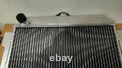 Radiateur De Course En Aluminium 56mm Pour Ford Capri Rs/escort Mk1 Essex V6 2.6/3l