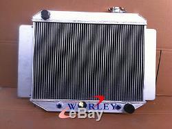 Radiateur De Course Holden Kingswood Torana En Aluminium Allié Hq Hj Hx Hz V8 Chev