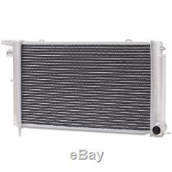 Radiateur De Course Rond En Alliage Aluminium 48mm, Ford Escort Rs Turbo Serie 2 86-90