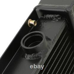 Radiateur De Moteur Sport Noir Aluminium 40mm Rad Pour Subaru Impreza Classic Gc8