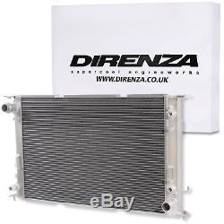 Radiateur Direnza 40mm Aluminium Twin Core Race Audi A6 S6 2.7 2.0 3.0 Tfsi Tdi