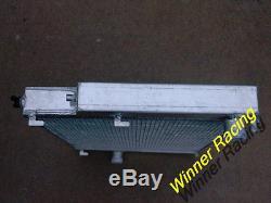 Radiateur Double De Bmw E36 M3 / Z3 / 325td De Noyau De 40mmm Tout En Aluminium