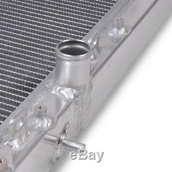 Radiateur Double Noyau En Alliage De 40mm Pour Mitsubishi Evo 7 8 9 Fq340 Mr 4g63 Ct9a Turbo
