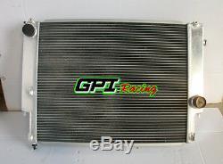 Radiateur En Alliage Aluminium A 2 Rangées Pour Bmw E36 1992-1999 93 94 95 96 97 98 99 Manual