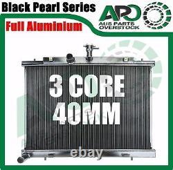 Radiateur En Alliage Complet 3core Pour Nissan X-trail T31 2.0l Turbo Diesel 2007-2013