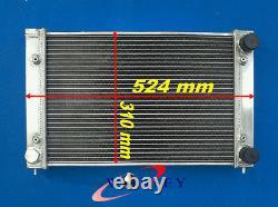 Radiateur En Alliage D'aluminium 2 Rangs Pour Vw Golf Gti Mk2 16v 1986-1992