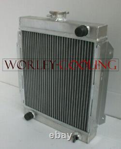 Radiateur En Alliage D'aluminium 3 Rangs Datsun 1200 B110 A12/t 1970-1976 71 72 73 74 75