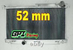 Radiateur En Alliage D'aluminium 3 Rangs Pour Mazda Rx7 Fd3s Mt 1992-1995 1993 1994