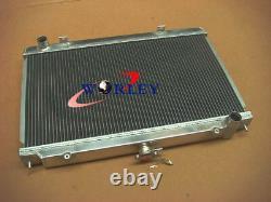Radiateur En Alliage D'aluminium 3row 52mm Et Srhound&fan Pour Nissan Silvia S14 S15 Sr20det