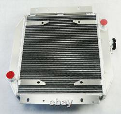 Radiateur En Alliage D'aluminium 4 Rangée 62mm Pour Ford Escort 1971-1980 Mt 1978 1979 1980