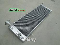 Radiateur En Alliage D'aluminium À 3 Rangs Jeep Cherokee Xj 4.0 242 CID L6 Mt / At 1991-2001