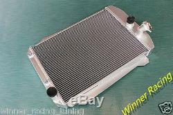 Radiateur En Alliage D'aluminium Chevy Hot / Street Rod 350 V8 Withtranny Cooler 1939