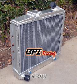 Radiateur En Alliage D'aluminium De 52mm Avec Refroidisseur D'huile Renault 5 / R5 Gt Turbo 1985-1991