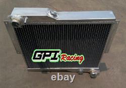 Radiateur En Alliage D'aluminium De 56 MM Pour Mg Mgb Gt V8 1973-1976 1974 1975 1976