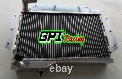Radiateur En Alliage D'aluminium De 56 MM Pour Mg Mgb Gt/roadster 1968-1975 1973 1974 1970