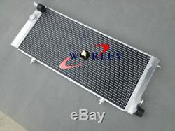 Radiateur En Alliage D'aluminium Et 10''fans Pour Peugeot 205 Gti 1.6l Et 1.9l 1984-1994