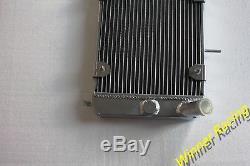 Radiateur En Alliage D'aluminium Fiat X1 / 9 Bertone X1 / 9 Lancia Scorpion Et Montecarlo 40mm