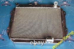 Radiateur En Alliage D'aluminium Fit Daihatsu Rocky F7/f8 2.8d/2.8td Dl/dlt M/t 1985