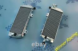 Radiateur En Alliage D'aluminium Husqvarna Fc250/te250/te300/fe350 2017-2018 Bracé 32mm