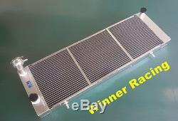 Radiateur En Alliage D'aluminium Jeep Cherokee Xj 4.0 242 CID L6 Mt 1991-2001 Jusqu'à 700hp