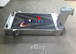 Radiateur En Alliage D'aluminium Mt 3 Rows Triumph Tr2 / Tr3 / Tr3a / Tr3b