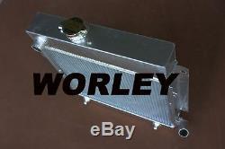 Radiateur En Alliage D'aluminium Pour Bmw E10 2002/1802/1602/1600/1502 Tii / Turbo