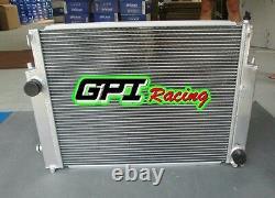 Radiateur En Alliage D'aluminium Pour Bmw E36 M3/z3/325i +linceul+fan