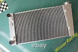 Radiateur En Alliage D'aluminium Pour Fiat Punto 176 Gt 1.4l Turbo Mt 1994-1999 40mm