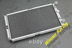Radiateur En Alliage D'aluminium Pour Fiat Punto 176 Gt Turbo 1.4l Mt 1994-1999 40mm
