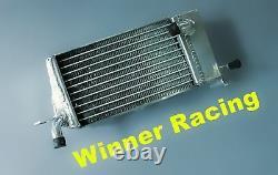 Radiateur En Alliage D'aluminium Pour Honda Cr125r/cr250r A 2 Temps 1984 Braced