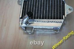 Radiateur En Alliage D'aluminium Pour Ktm 390 Duke Black/white Abs Rc 390 Lc4 2015-2016