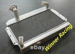 Radiateur En Alliage D'aluminium Pour Mg Mgb 1.8l Mt 1963-1968 1967 1966
