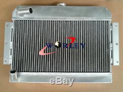 Radiateur En Alliage D'aluminium Pour Mgb Gt / Roadster Top-fill 1968-1975 1969 1970 1971 72