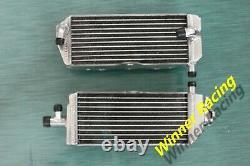 Radiateur En Alliage D'aluminium Pour Suzuki Rm125 E28 Modèle M 1989-1991 2-strock 40mm
