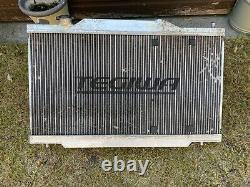Radiateur En Alliage D'aluminium Tegiwa Honda Ep3 Avec Interrupteur À Ventilateur Mishimoto Et Thermo