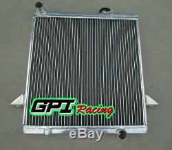Radiateur En Alliage D'aluminium Triumph Tr6 1969-1974 70 71 72 73 / Tr250 1967-1968