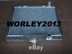 Radiateur En Alliage D'aluminium + Ventilateur Pour Chrysler Valiant Vg Vj Hemi 6 Cyl