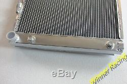 Radiateur En Alliage Fit Mercedes 190 E W201 E23 / E25 / E Evolution II 2.5 16v A 1982-1993