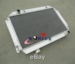 Radiateur En Alliage Pour Holden Torana Hq Hj Hx Hz Hk Kingswood Chevy V8 + Suaire + Ventilateurs