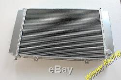Radiateur En Alliage Pour Porsche 928 V8 78-82 Gt / S / S2 / S4 / Cs / Se Avec 1 Refroidisseur D'huile 86-89