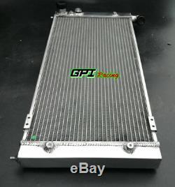 Radiateur En Aluminium + 2fans Pour Volkswagen Vw Golf 2 Corrado Vr6 Turbo 16v G60 Mt
