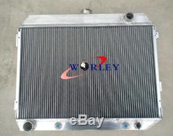 Radiateur En Aluminium 3 De Base Pour Dodge Charger V8 1968 1969 1970 1971 1972 1973