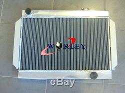 Radiateur En Aluminium 3 Noyaux 56mm Avec Un Tension Automatique V8