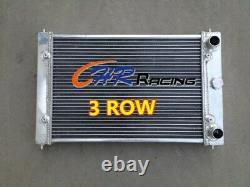 Radiateur En Aluminium 3 Rangées Pour Volkswagen Vw Polo 86c 1.3l G40 1982-1994 Coupé