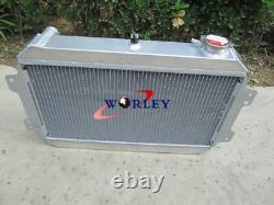 Radiateur En Aluminium 3 Rangées + Ventilateur Pour 1979-1985 Mazda Rx7 Sa/fb S1 S2 S3 12a/13b Mt