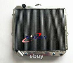 Radiateur En Aluminium 3 Rangs Pour Mitsubishi Pajero Nh Nj Nl Nk 3.5l V6 Essence 94-00