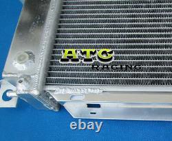 Radiateur En Aluminium 3row Et Ventilateurs Pour Ford Falcon Ef El Xh Fairlane Nf Nl Ltd Df DL