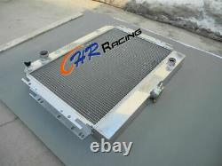Radiateur En Aluminium 4 Rangée Pour Chevy Impala L6 V8 1963-1968 /ei Camino 1964-1967