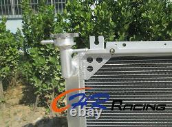 Radiateur En Aluminium 4row+fans Nissan Patrol Gq 2.8 4.2 Diesel Td42&3.0 Essence Y60